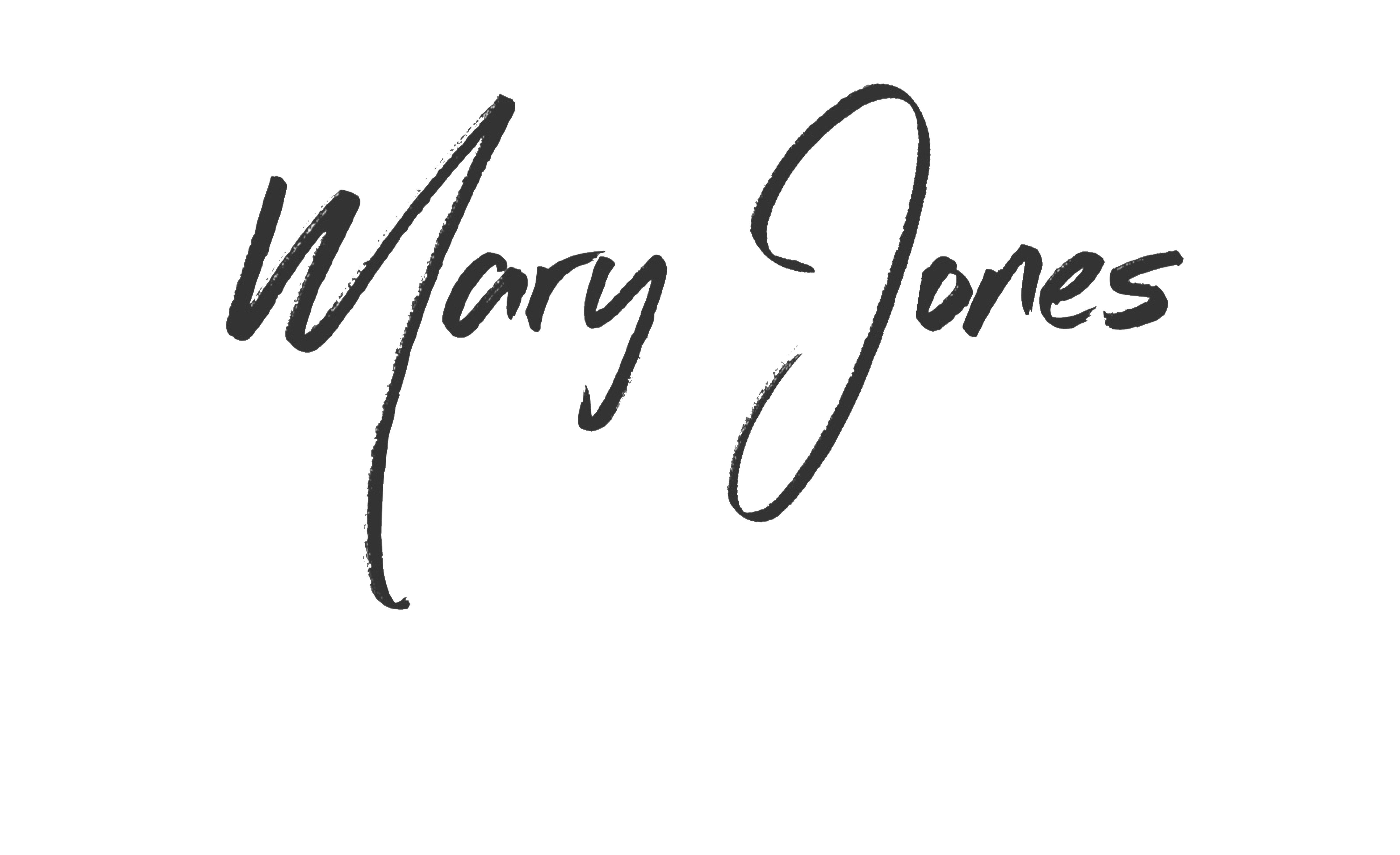 MaryJones